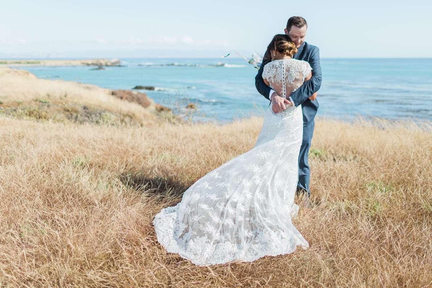 swallow ranch cayucos wedding photos