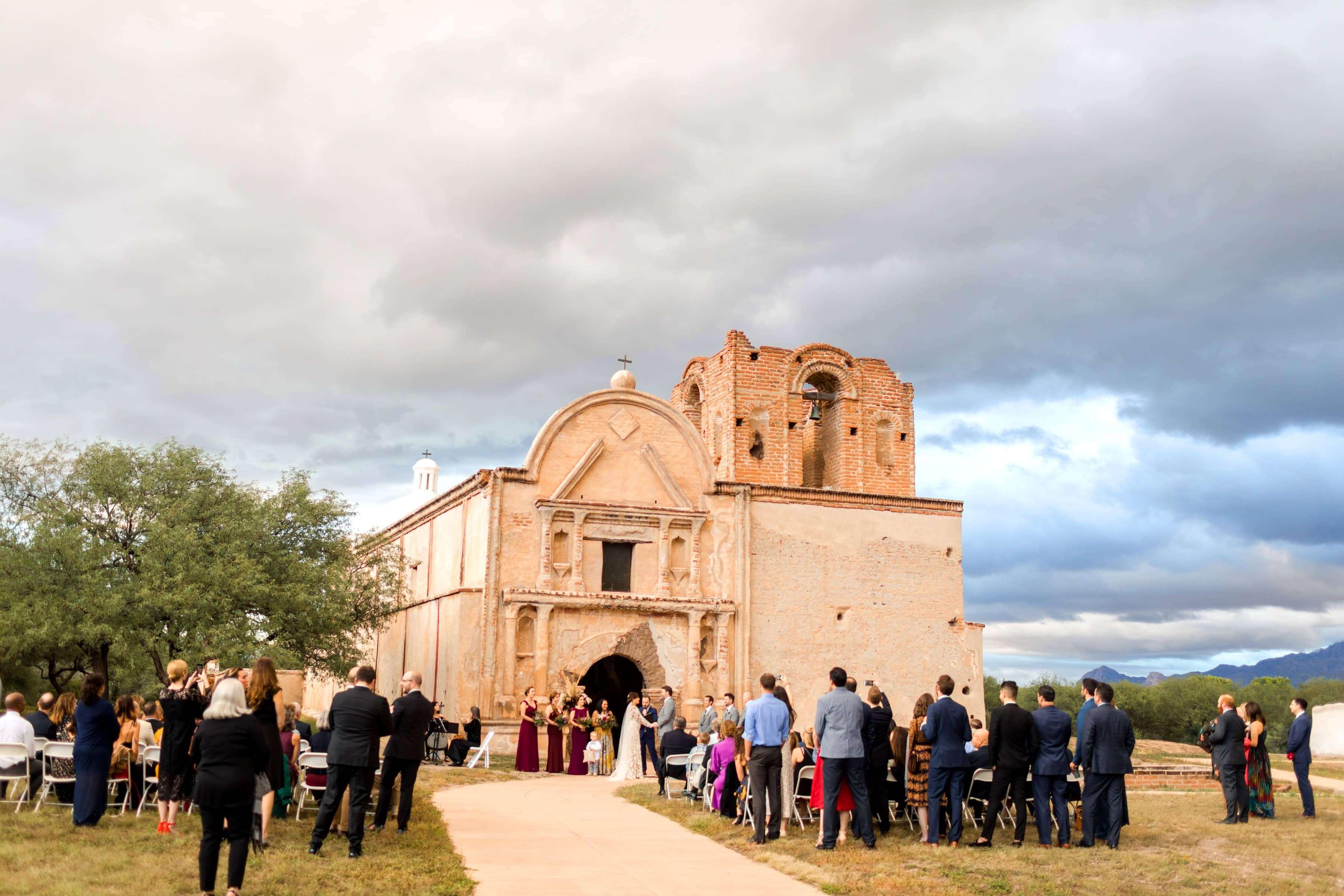 tumacacori national monument wedding
