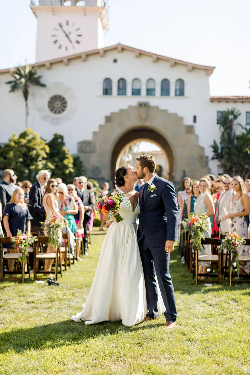 santa barbara sunken gardens wedding