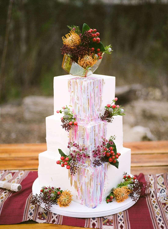 sweet lady jane wedding cake at reptacular ranch
