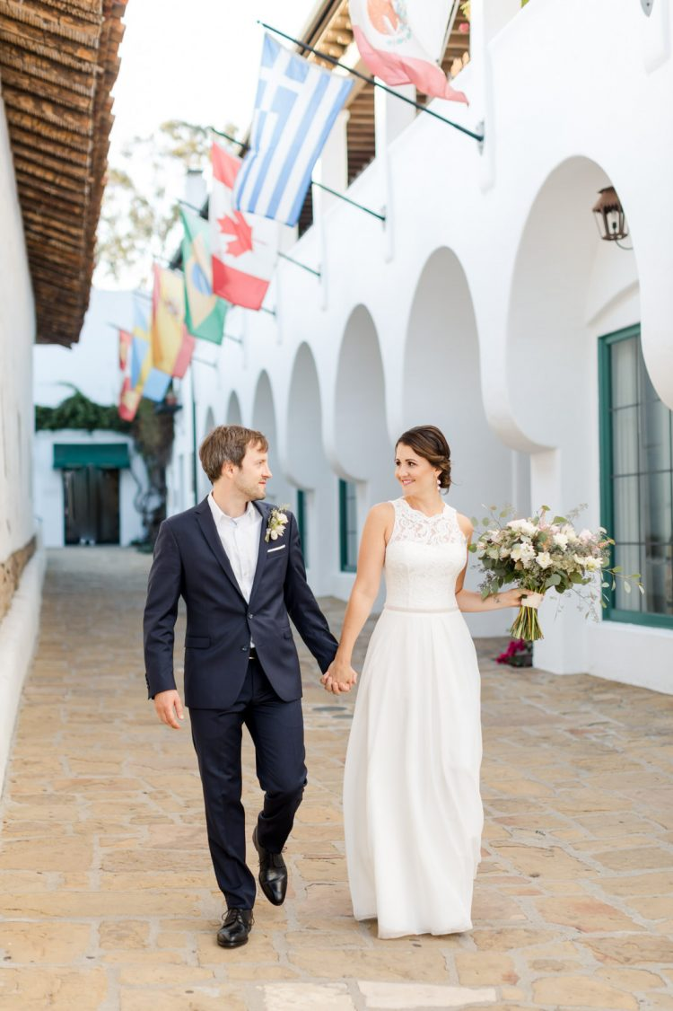 downtown santa barbara courthouse wedding