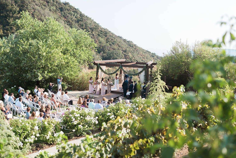 Serendipity garden wedding photos